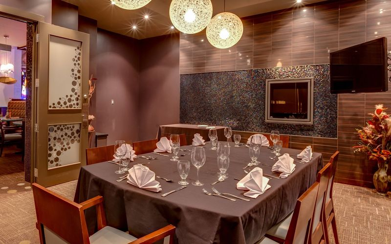 Private Dining Room at Apex Casino